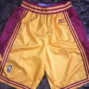 Other - Cleveland Cavs Adidas NBA authentic shorts XL